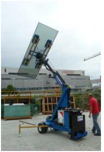 ماشین آلات حمل شیشه