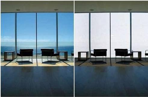 شیشه مات شونده - شیشه ساختمانی