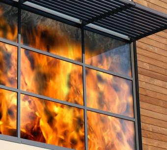 شیشه ضد حریق2