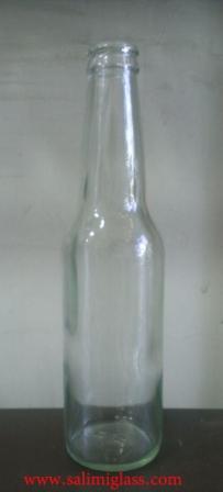 بطری 330 دلستری شفاف