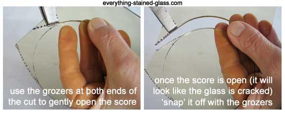 برش گرد شیشه 5